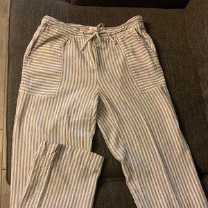 Flare leg pants